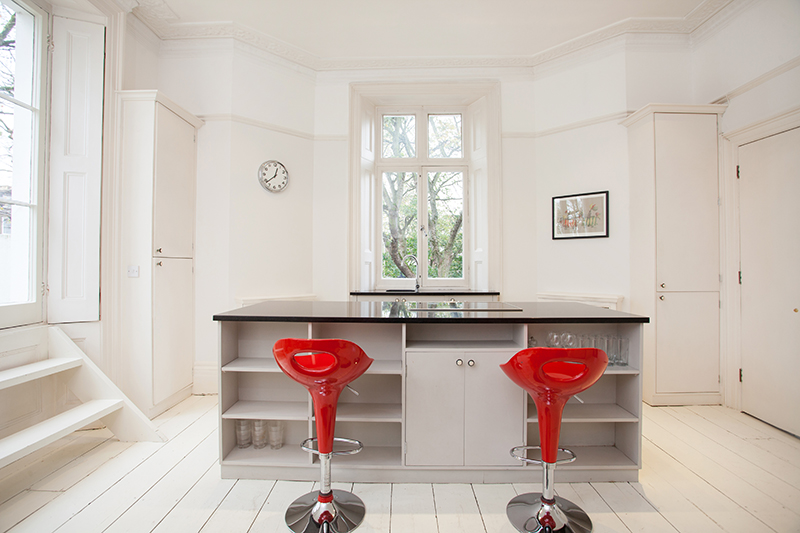 norland square kitchen - property photography