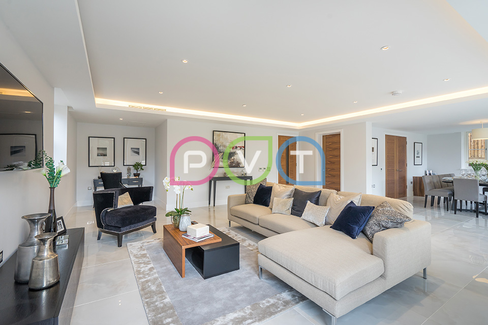 Dollis Avenue Property Photography | Living Room
